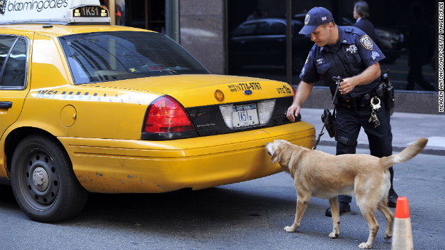 Testimony about drug sniffing dogs heard by the Supreme Court Wednesday is central to a review of Fourth Amendment rights. 