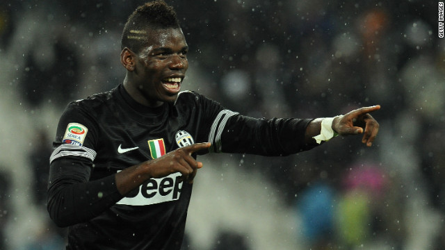 Paul Pogba fired home a 92nd minute winner as Juventus stretched its lead at the top of Serie A to four points.