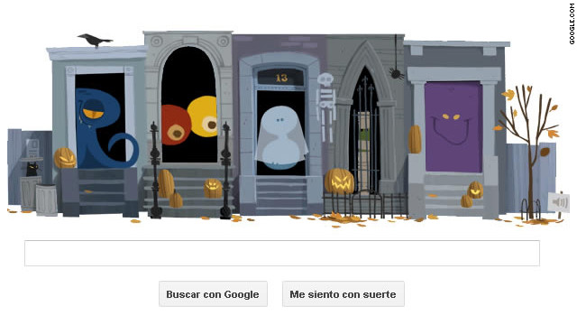 ¡Feliz y terrorífico día de «Googleween»!