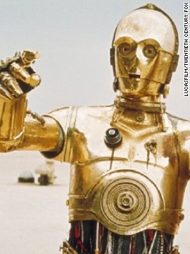 C-3PO is adept at communicating, which is helpful considering his buddy R2-D2 doesn't speak English.