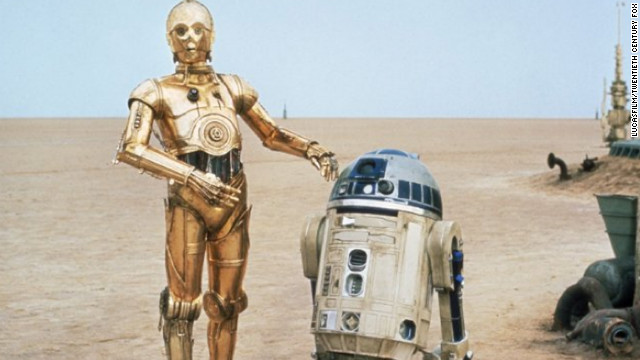 "Little is known so far of what Abrams will do with ""Star Wars Episode VII,"" though it seems fair to speculate that Michael Arndt's script will include those galactic mainstays: C-3PO and R2-D2, seen here in ""Star Wars Episode IV: A New Hope."""