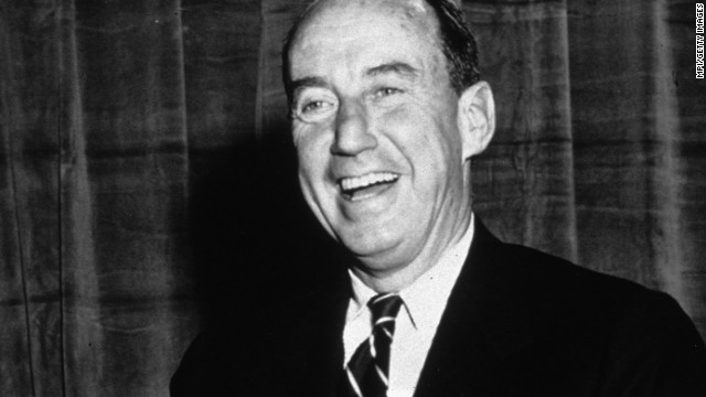 Democrat Adlai Stevenson lost his birth state of California and his home state of Illinois to Dwight Eisenhower in both 1952 and 1956.