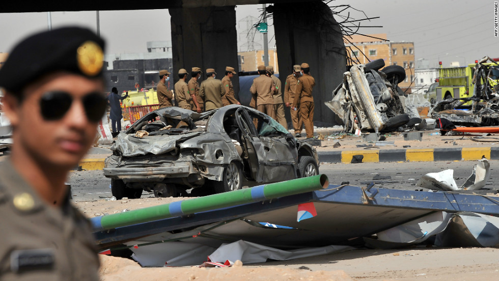 A fuel tanker rammed into a bridge in the capital city of Riyadh and exploded into a ball of fire Thursday, November 1, killing 22 people.