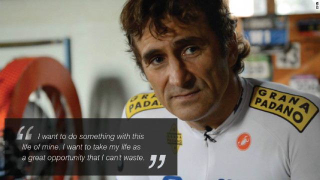 Alex Zanardi\'s road back to victory