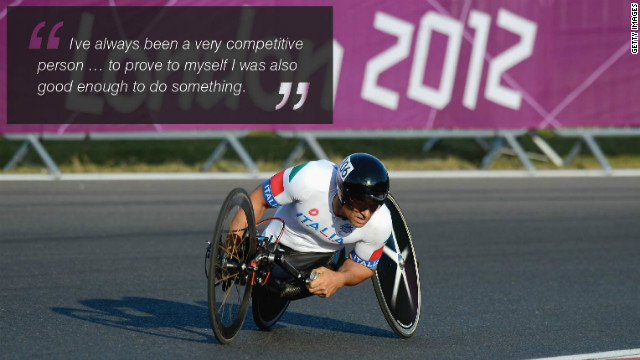 'Lucky' F1 driver lost both legs and triumphed with Paralympic gold