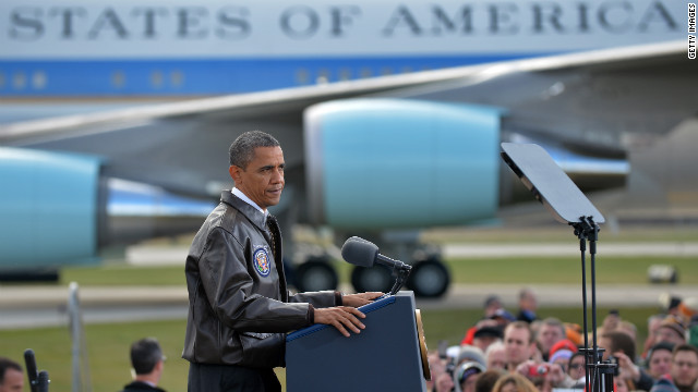 Back on stump after Sandy, Obama says Romney's 'bet is on cynicism'