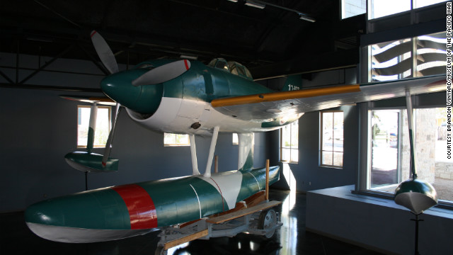 The museum boasts the only restored WWII Japanese rex plane -- also called a Japanese float plane -- currenly on display in the U.S. According to the museum, these aircraft were designed to support offensive operations in advance of available airstrips.<br/><br/>