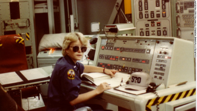 At the height of the Cold War in 1983, Yvonne Morris served as an Air Force instructor and missile combat crew commander trained to launch nuclear armed Titan II rockets.