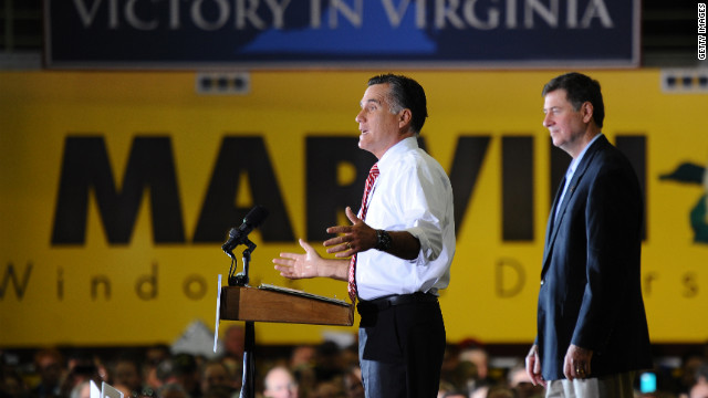 Romney tries to put PA in play