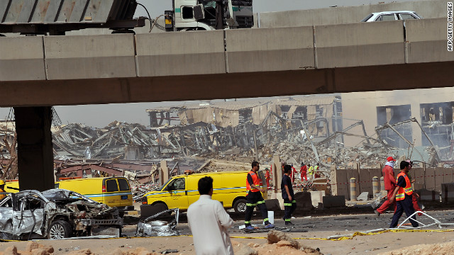 22 killed in fuel tanker explosion in Saudi Arabia