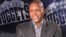 Masai Ujiri, general manager of the Denver Nuggets.