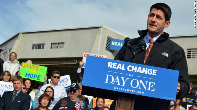 Ryan urges Nevada voters to vote early