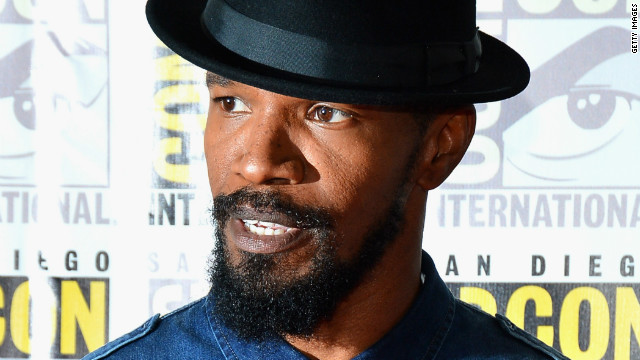 Jamie Foxx circles role in 'Amazing Spider-Man 2'