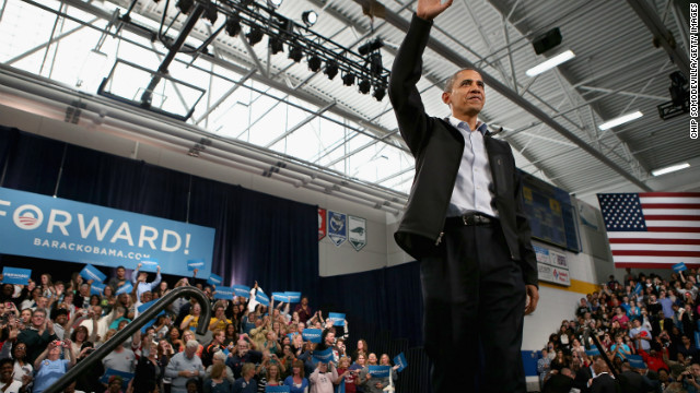 CNN poll: Obama, Romney neck and neck in Ohio