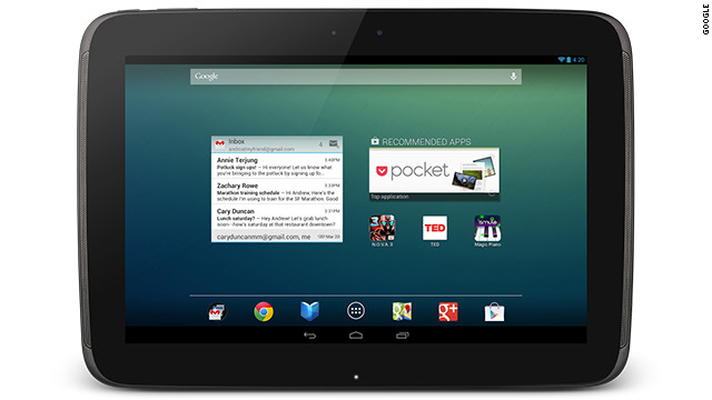 Google and Samsung have teamed up for the Nexus 10 Android tablet