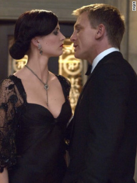 In 2006's &quot;Casino Royale,&quot; Daniel Craig's Bond fell for Eva Green's Vesper Lynd.