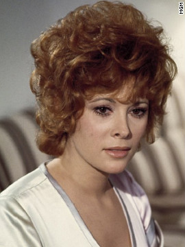 Jill St. John played diamond smuggler Tiffany Case in &quot;Diamonds Are Forever.&quot; Bond is pretending to be Peter Franks when he and Case meet in the 1971 movie, which marked Connery's last turn as 007.