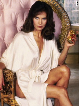 Maud Adams starred alongside Moore's Bond as Octopussy in the 1983 film of the same name. The jewel smuggler and circus owner alerts Bond of a bomb, making her another girl to save his life.