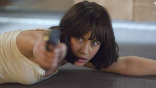 Olga Kurylenko played Camille Montes in &quot;Quantum of Solace.&quot; The former Bolivian agent is first seen in Bond's getaway car in the 2008 film.