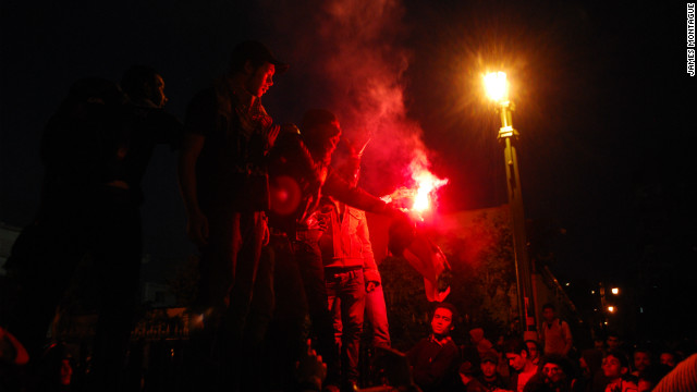 Emboldened by their success, groups of ultras would attend and lead many of the post-Mubarak protests in Cairo against the military regime.