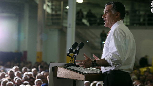 Romney polling showed Obama lead in Ohio on Sunday