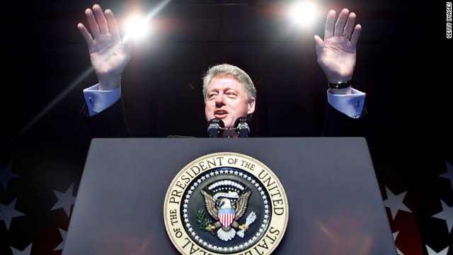 William J. Clinton, the 42nd president (1993-2001)