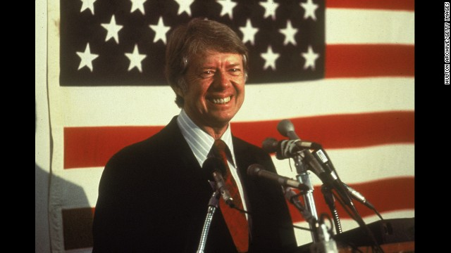 Jimmy Carter, the 39th president (1977-1981<!-- -->)</br>