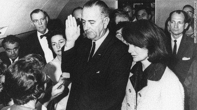 Lyndon B. Johnson, the 36th president (1963-1969<!-- -->)</br>