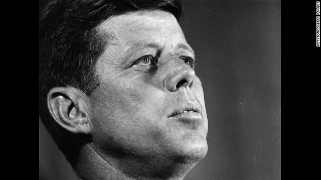 John F. Kennedy, the 35th president (1961-1963<!-- -->)</br>
