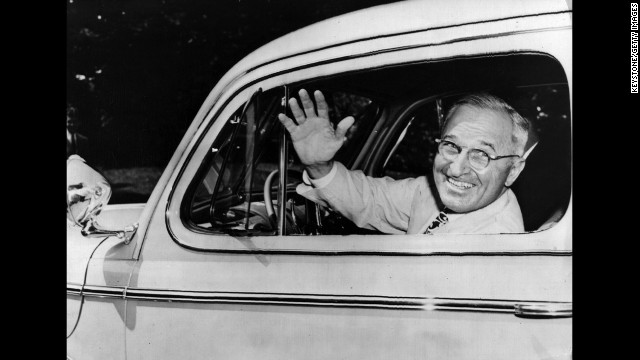 Harry S. Truman, the 33rd president (1945-1953)<!-- --> </br>