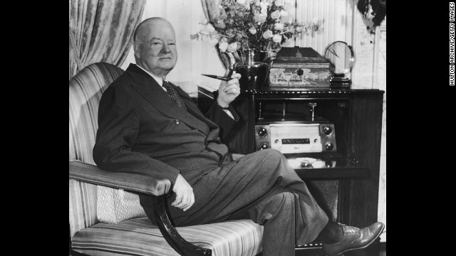 Herbert Hoover, the 31st president (1929-1933<!-- -->)</br>