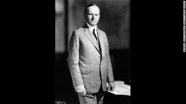 Calvin Coolidge, the 30th president (1923-1929)