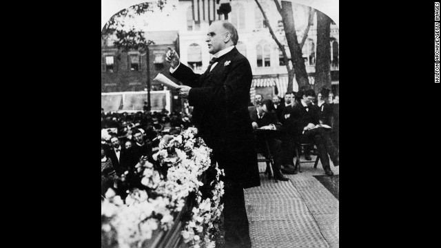 William McKinley, the 25th president (1897-1901)<!-- --> </br>