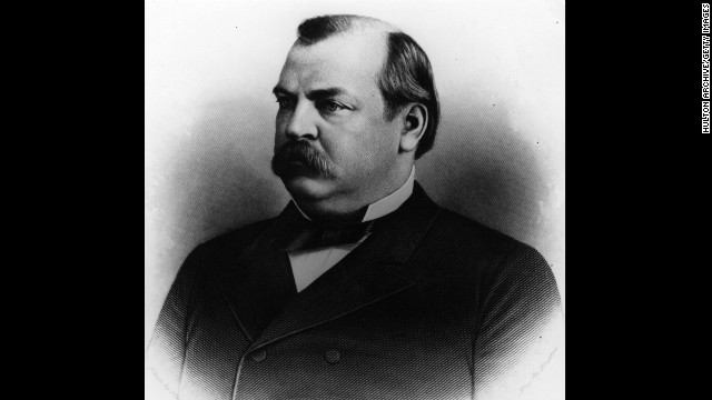 Grover Cleveland, the 22nd president (1885-1889) and the 24th president (1893-1897)<!-- --> </br>