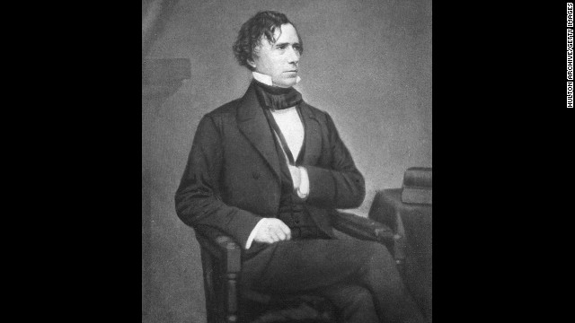 Franklin Pierce, the 14th president (1852-1856)