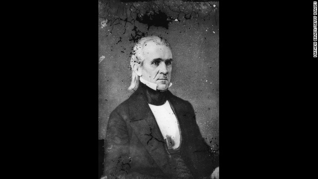  James K. Polk, the 11th President (1845-1849)