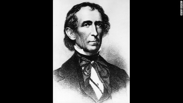 John Tyler, the 10th president (1841-1845<!-- -->)</br>