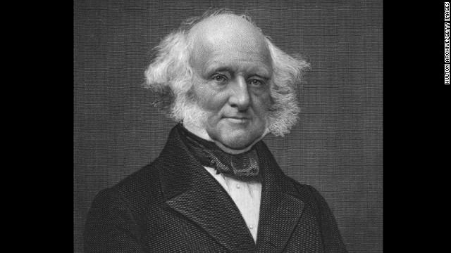 Martin Van Buren, the eighth president (1837-1841)