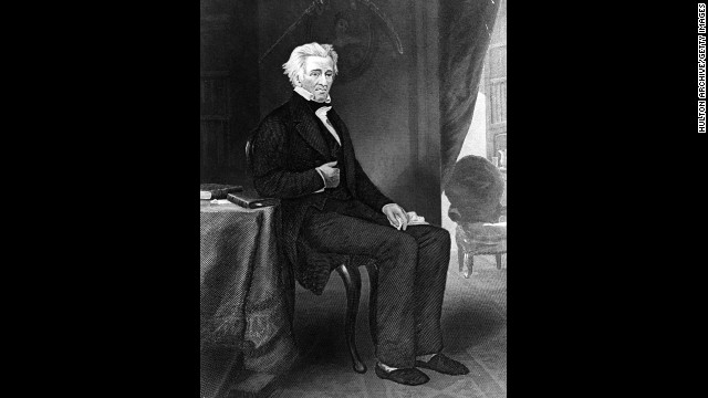 Andrew Jackson, the seventh president (1829-1837<!-- -->)</br>