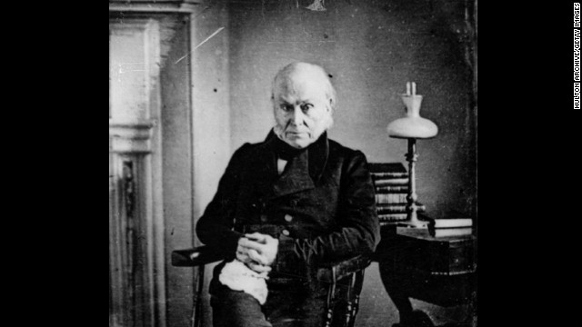John Quincy Adams, the sixth president (1825-1829<!-- -->)</br>