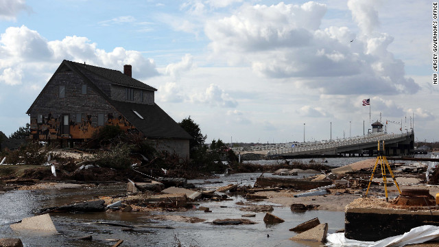 Coming nor'easter prompts evacuations in seaside New Jersey town hit by Sandy