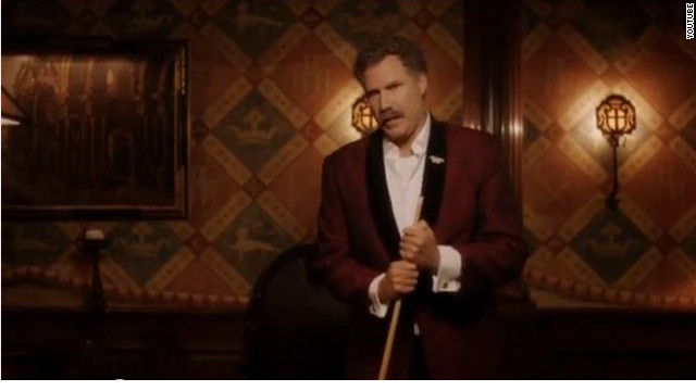 Will Ferrell offers to eat trash if you vote for Obama