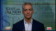 "Rahm Emanuel: ""It's a close election"""