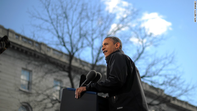 Obama: Election up to supporters while he's a 'prop'