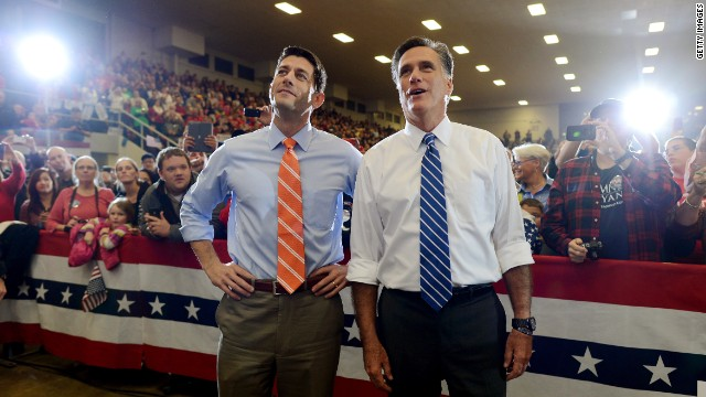 Mitt Romney to Paul Ryan: 'Happy Birthday!'