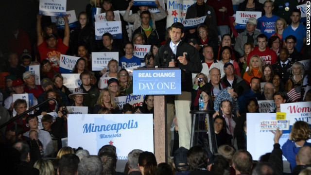 Paul Ryan rallies GOP in Minnesota