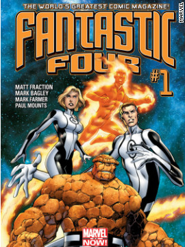 "With the announcement of a new ""The Fantastic Four"" film, the comics aren't wasting any time, giving the Fantastic Four some new scenery. Writer Matt Fraction compares the Marvel Now ""Fantastic Four"" -- in stores November 14 -- to the hit movie ""The Incredibles,"" with the Richards family traveling to the deepest reaches of space."