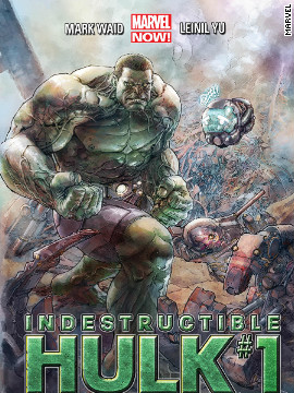 "With the Hulk's newfound popularity, thanks to ""The Avengers"" box office success, Marvel Now presents a ""whole new side"" of the big galoot in ""Indestructible Hulk"" No. 1, out November 21. Award-winning writer Mark Waid has a more ""enlightened"" Bruce Banner joining S.H.I.E.L.D., the organization driving the story in the popular film."