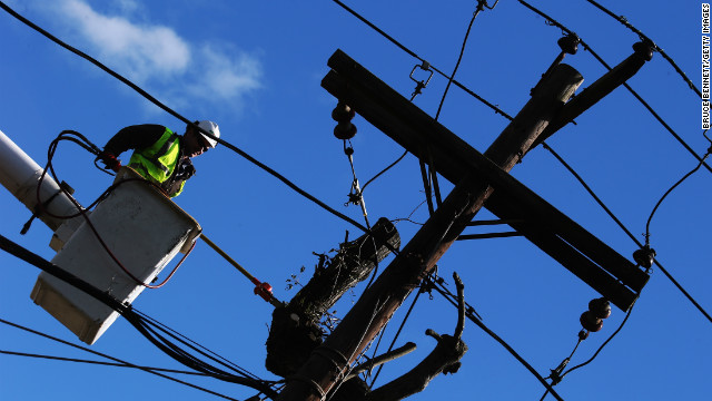 Con Edison:  Power restored to 80% of customers hit by Sandy