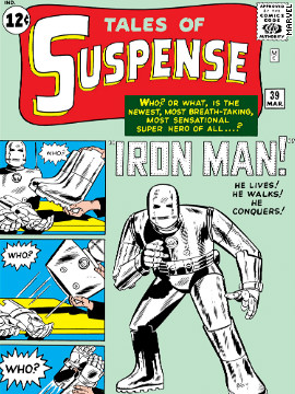 "Marvel Comics is reimagining its popular characters with its Marvel Now initiative, which debuts throughout November. Before going forward, take a look back at the characters origins. In the original ""Iron Man,"" Tony Stark wasn't always the wisecracking Robert Downey Junior character from recent movies. His suit was rather clunky in 1963's ""Tales of Suspense"" No. 39, and he fought against Vietnam during the early days of that war."